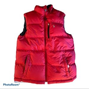 Polo by Ralph Lauren reversible vest blue red